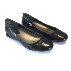 Cole Haan Air Bria Geni Patent Leather Ballet Flat